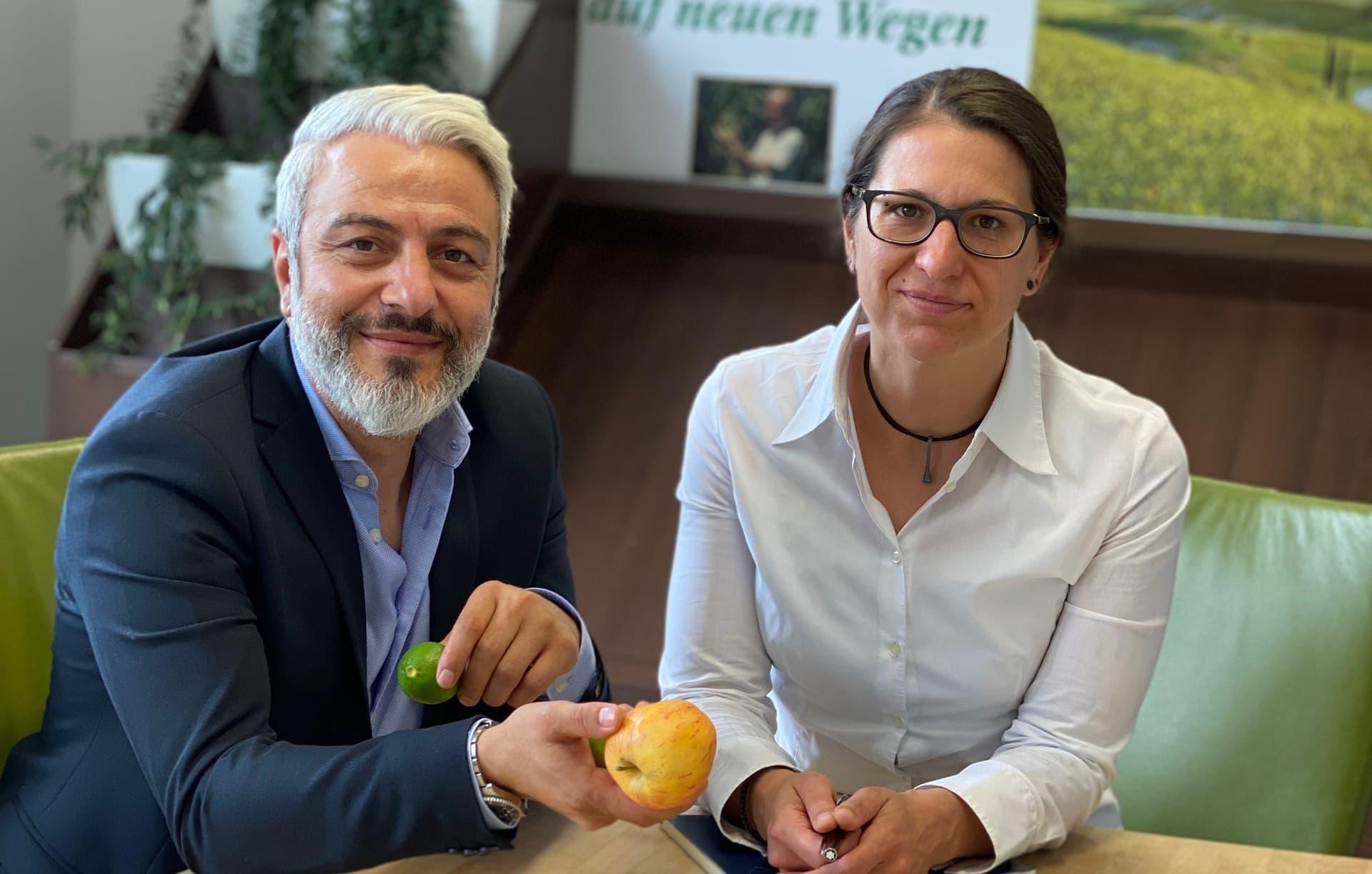 Marion Hoffmann und Yasar Yazici