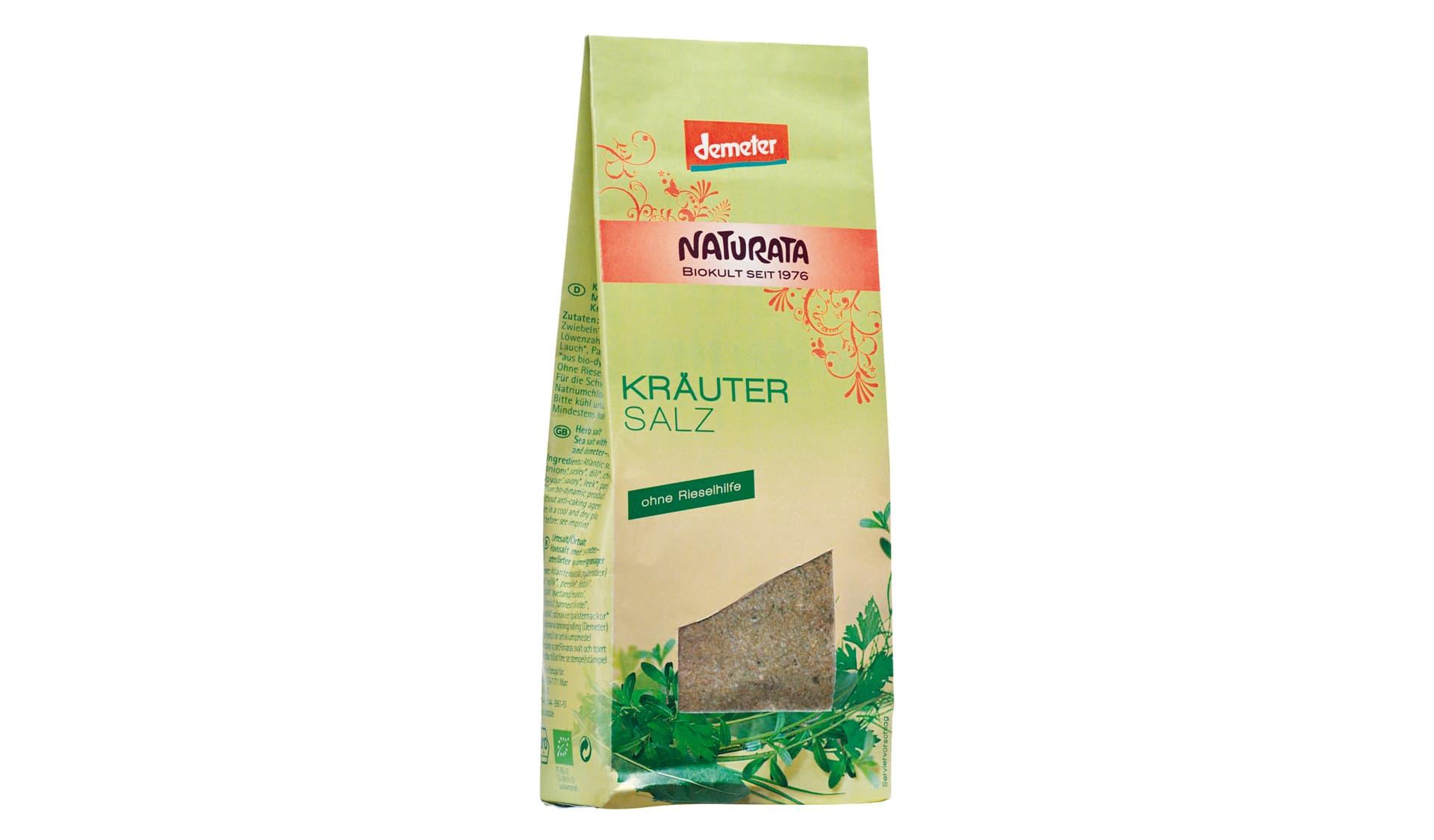 Naturata Kräutersalz ohne Rieselhilfe (www.naturata.de)
