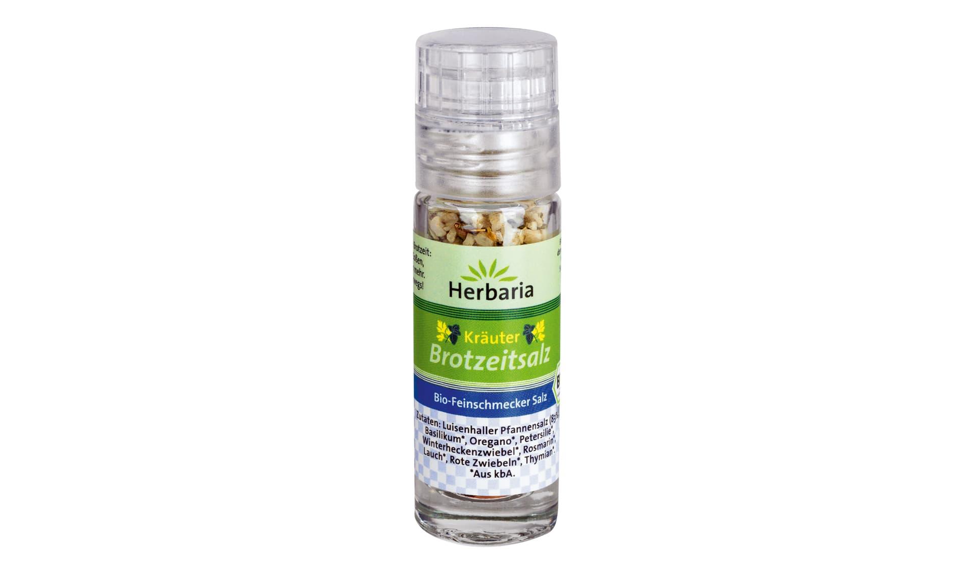 Herbaria Kräuter Brotzeitsalz (www.herbaria.de)