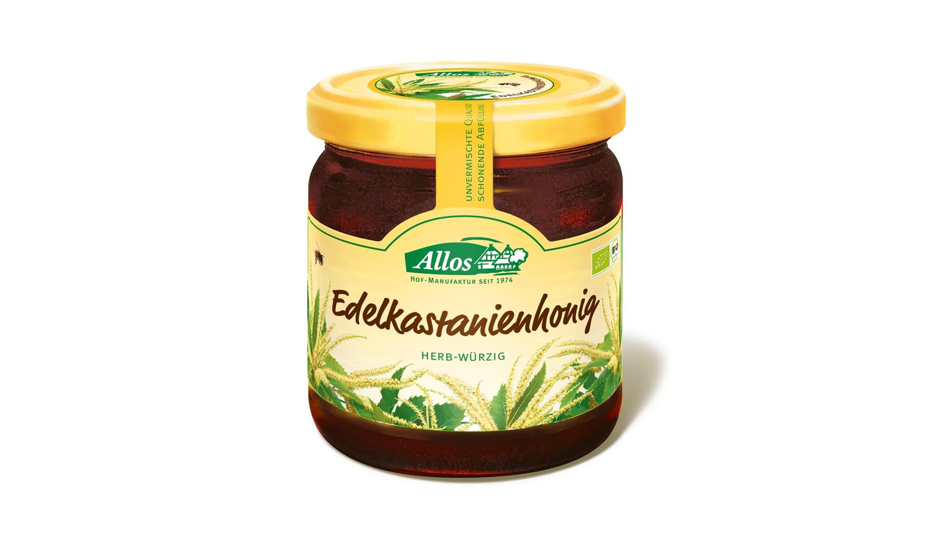 Allos Edelkastanienhonig (www.allos.de)
