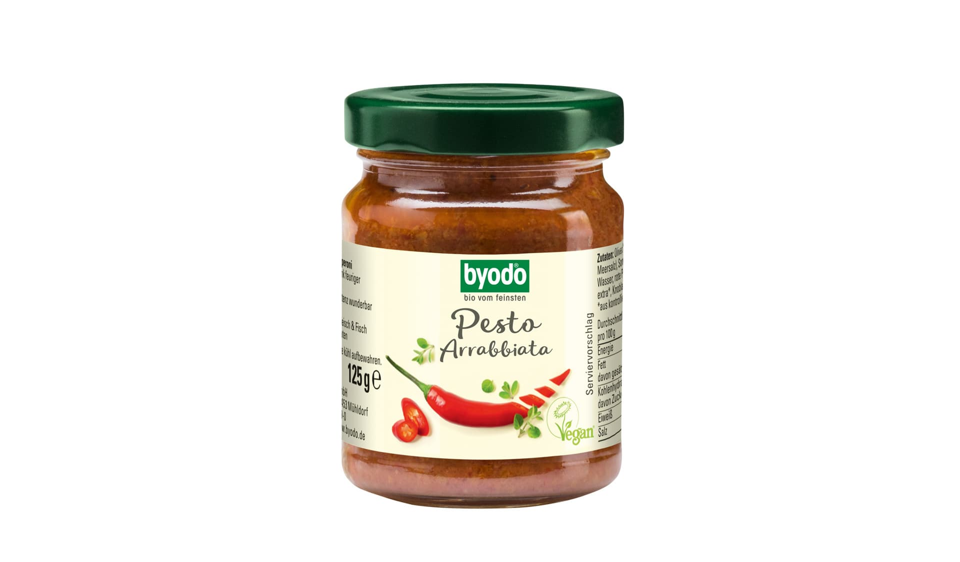 Byodo (www.byodo.de) Pesto Arrabiata