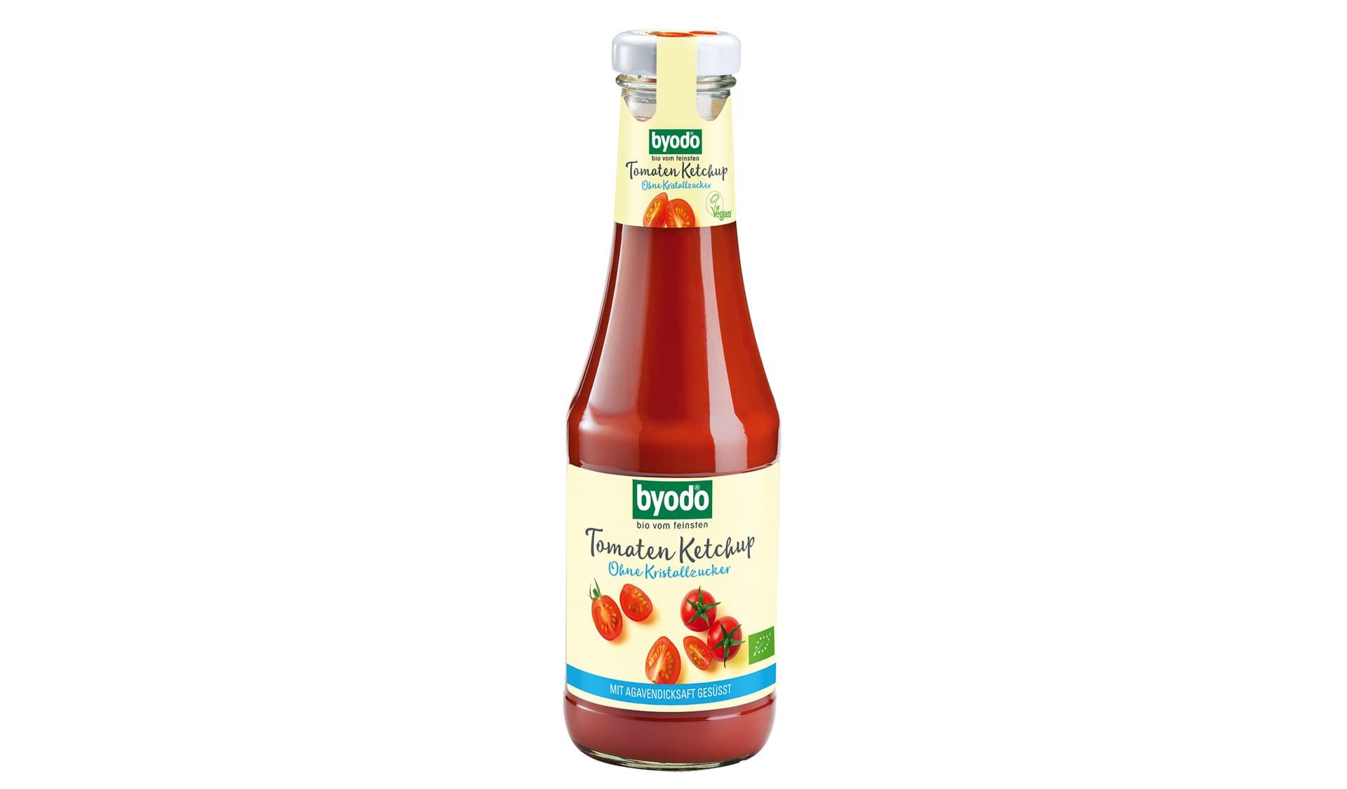 Byodo (www.byodo.de) Tomatenketchup ohne Kristallzucker