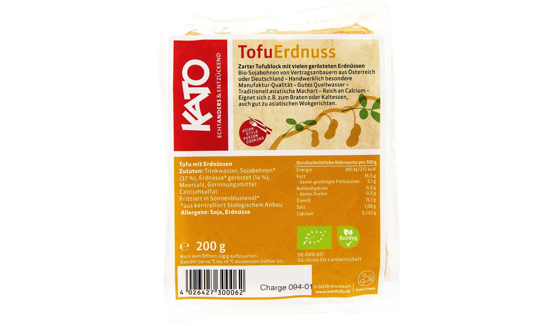 KaTo Tofu Erdnuss (www.tofutown.com)