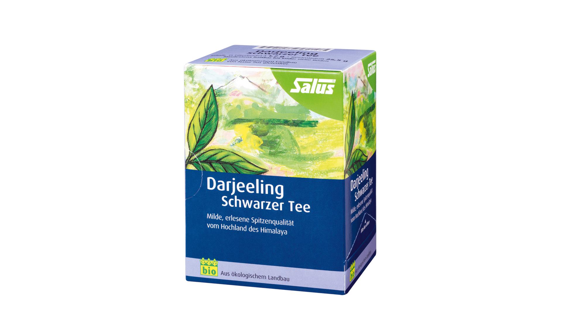 Salus Darjeeling Schwarzer Tee (www.salus.de/tee)