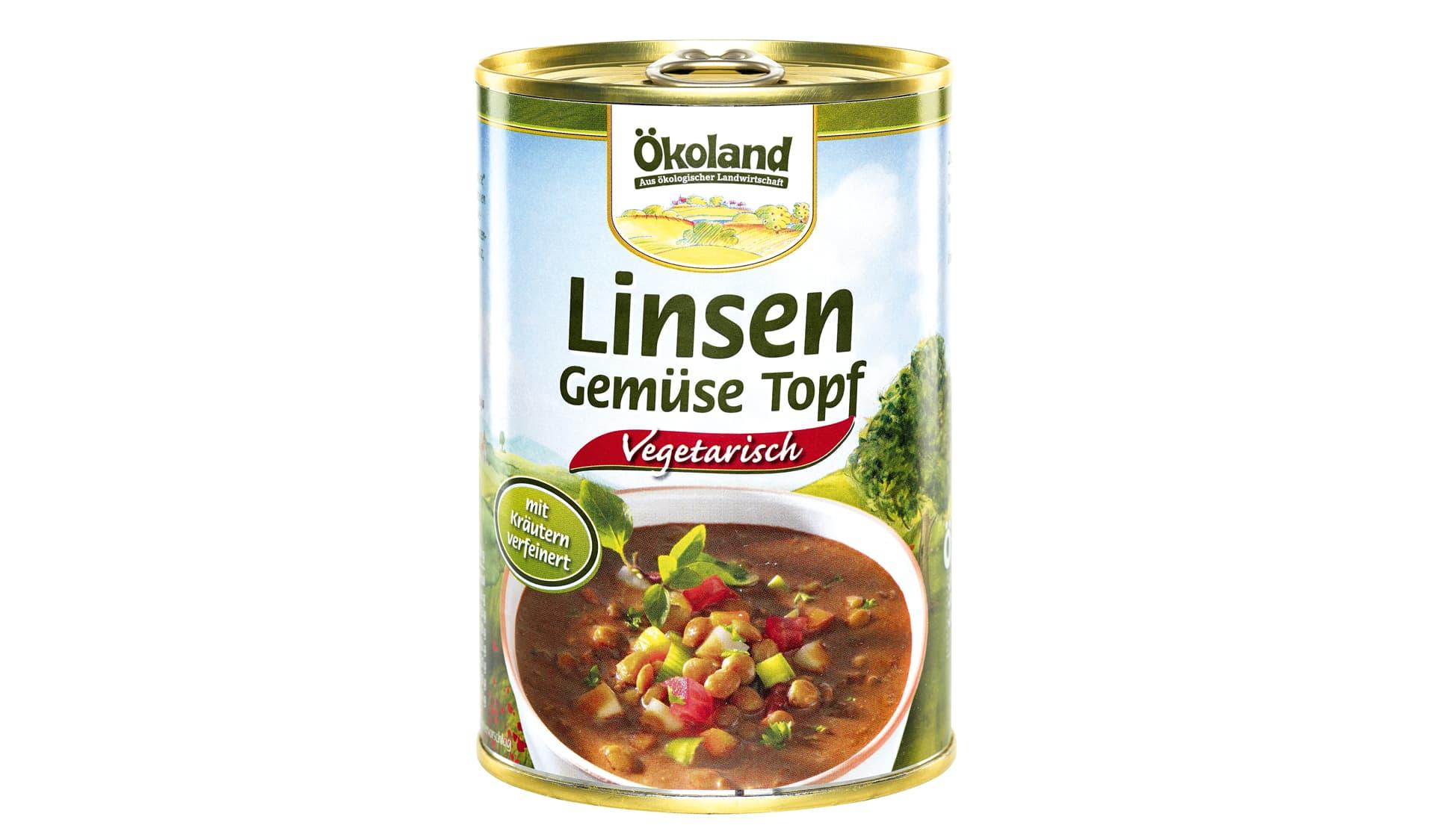 Ökoland Gemüsetopf, vegetarisch (www.oekoland.de)