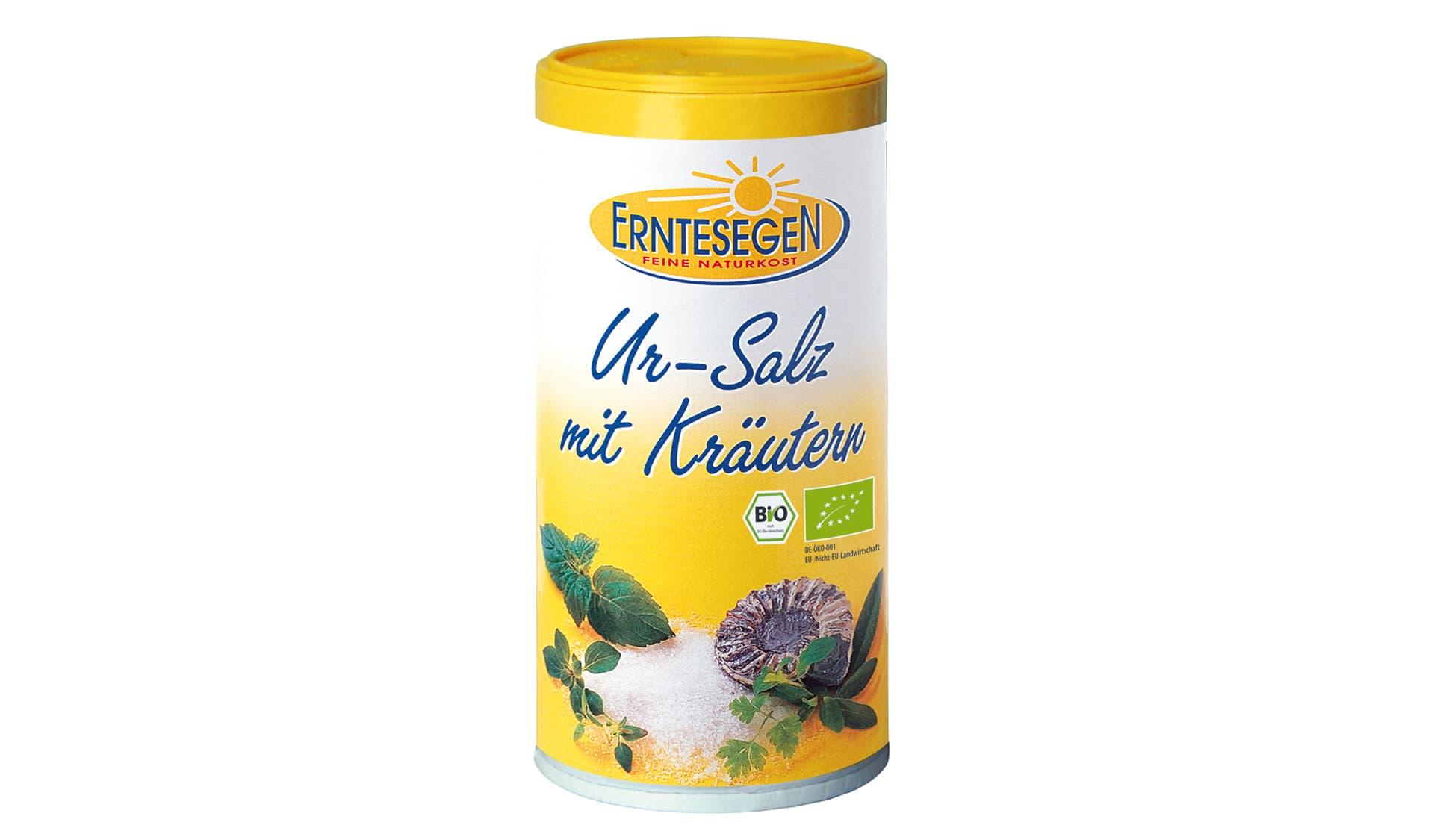 Erntesegen Ur-Salz mit Kräutern (www.erntesegen.de)