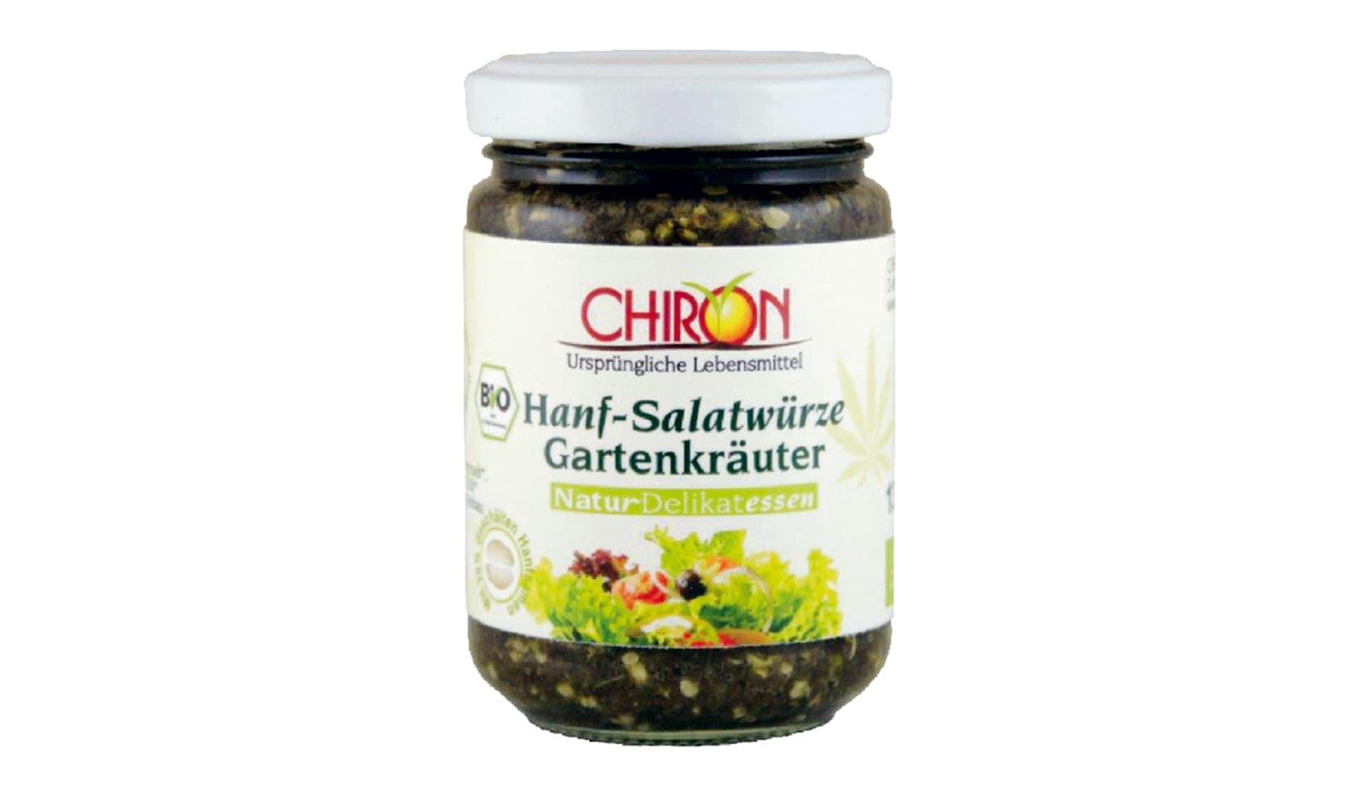 Chiron Hanf-Salatwürze Gartenkräuter (www.naturdelikatessen.de)