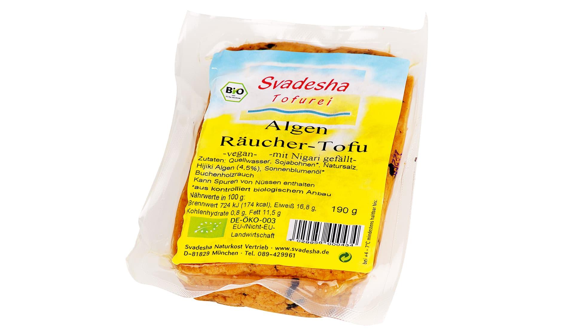 Svadesha Algen Räucher-Tofu (www.svadesha.de)