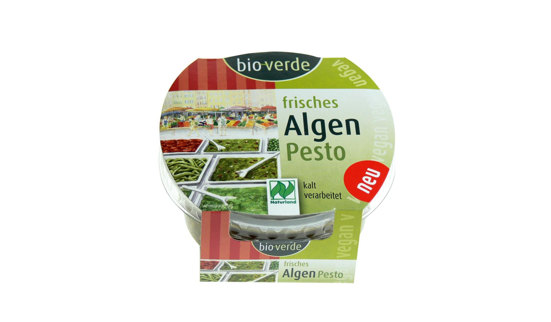 Isana/Bio Verde (www.bio-verde.de) Frisches Algen Pesto