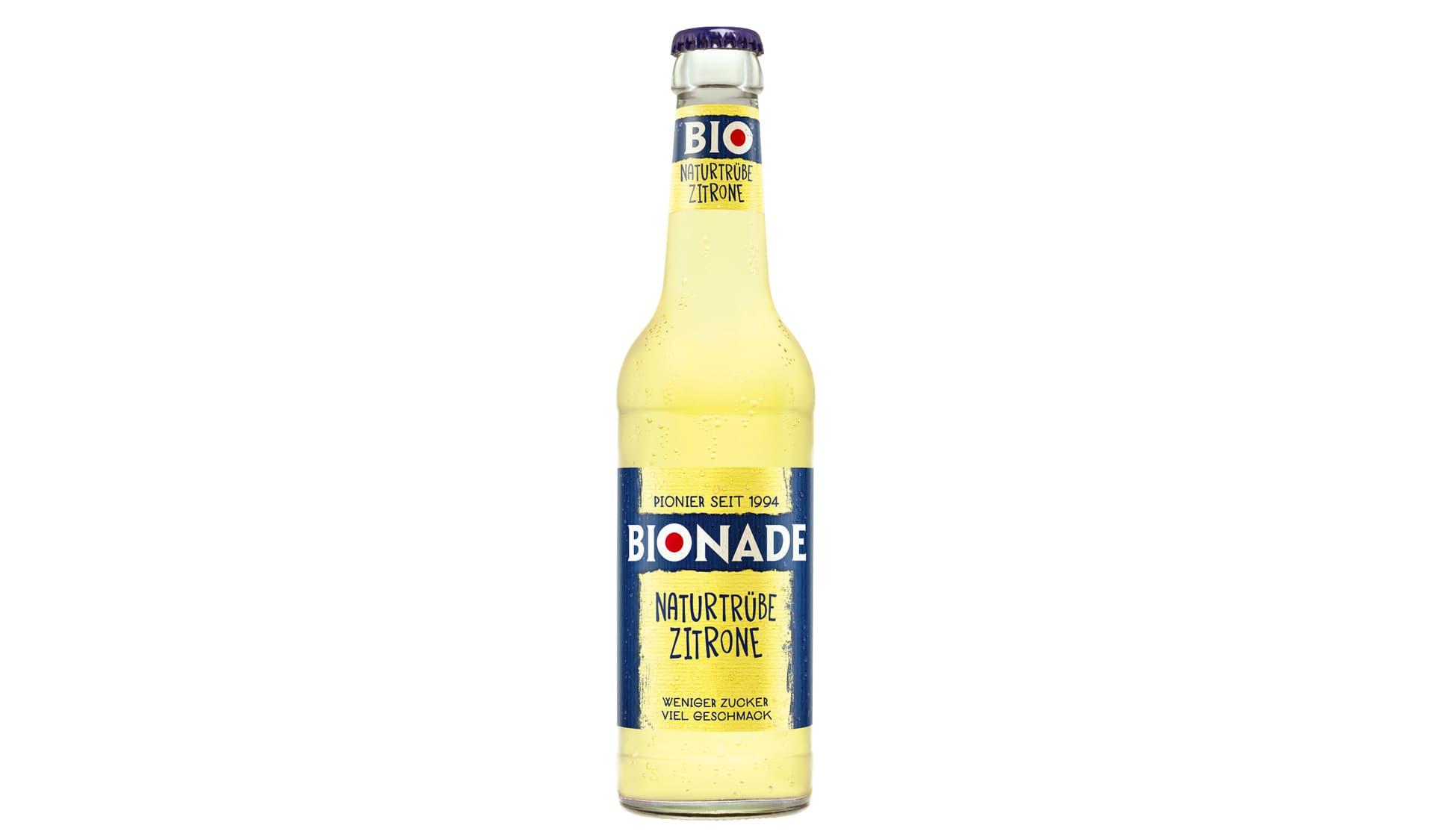 Bionade Naturtrübe Zitrone (www.bionade.de)