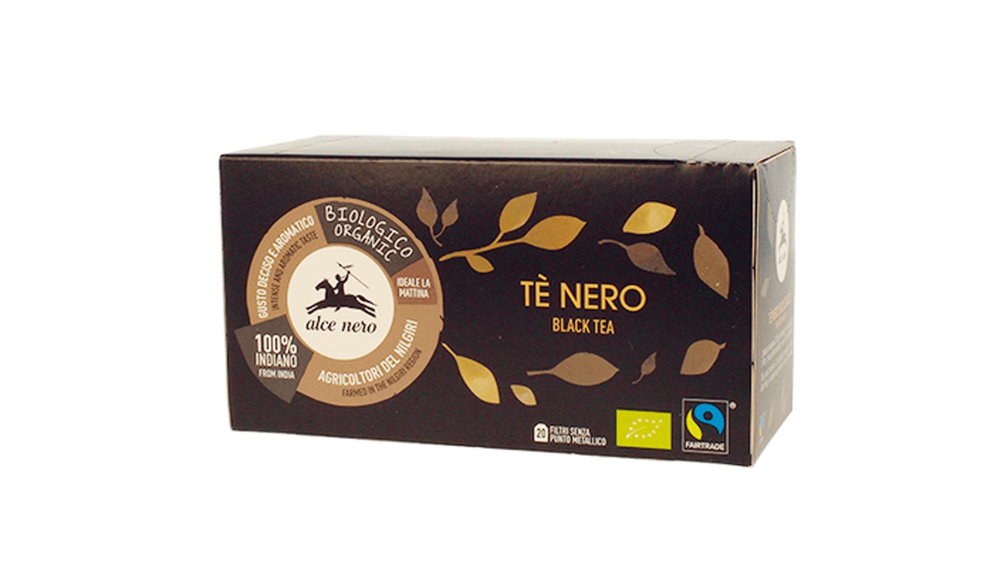Alce Nero Tè Nero Black Tea (www.alcenero.com)