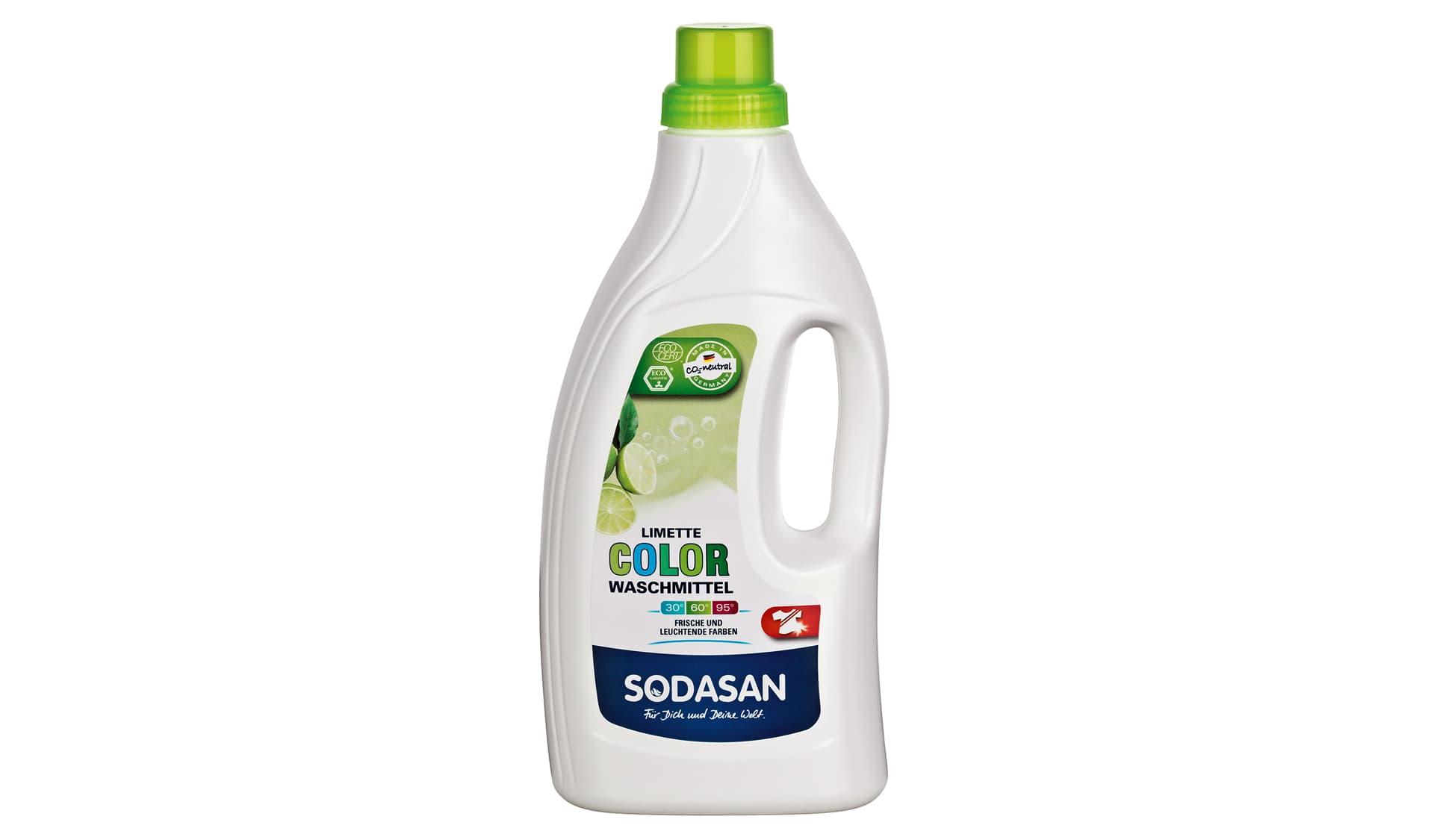 Sodasan (www.sodasan.de) Color-Waschmittel Limette
