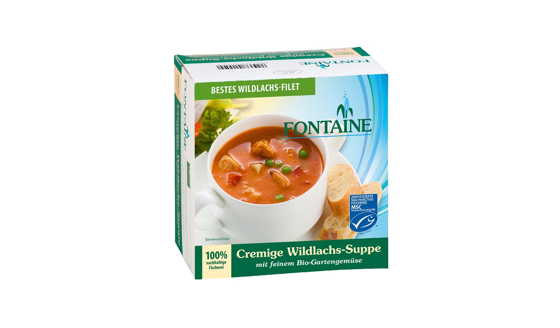 Fontaine Cremige Wildlachssuppe (www.fontaine-nahrungsmittel.de)