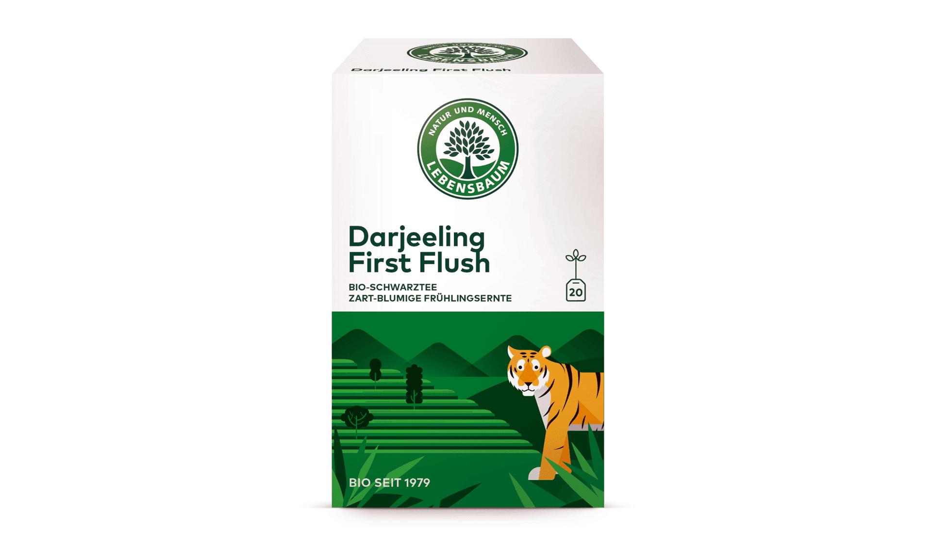 Lebensbaum Darjeeling First Flush, 20 Beutel (www.lebensbaum.com)