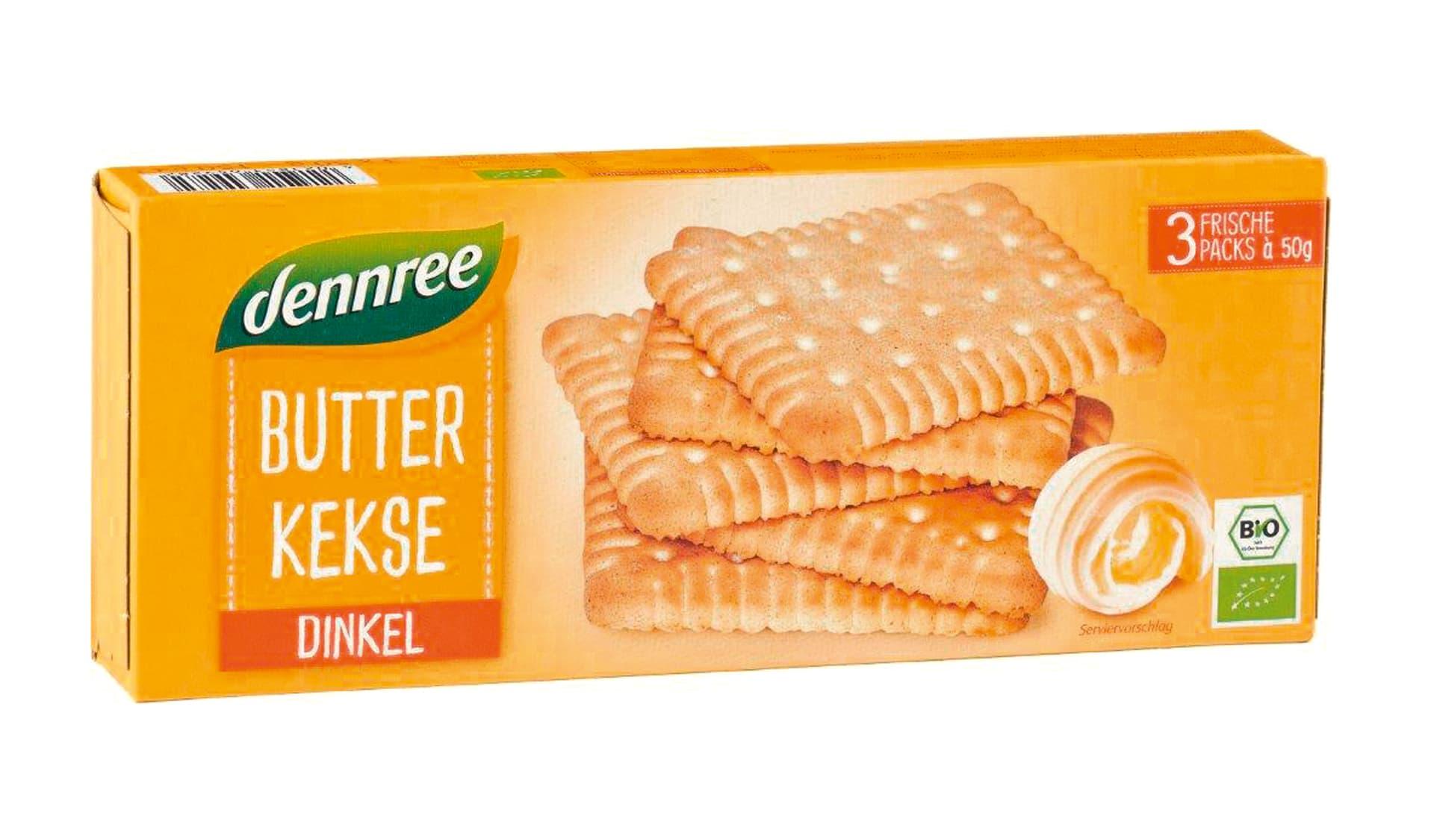 Dennree Butterkekse Dinkel (www.dennree.de)