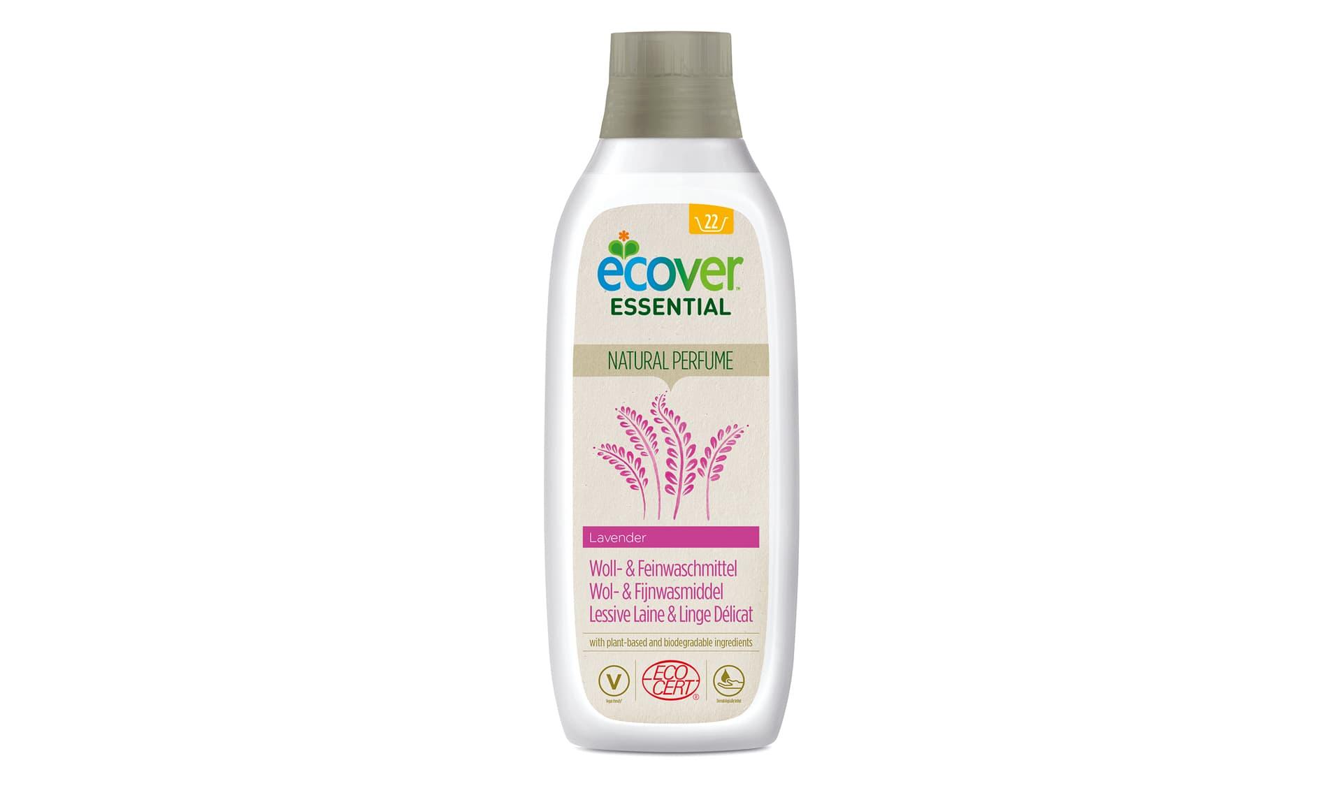 Ecover (www.ecover.de) Essential Woll- und Feinwaschmittel