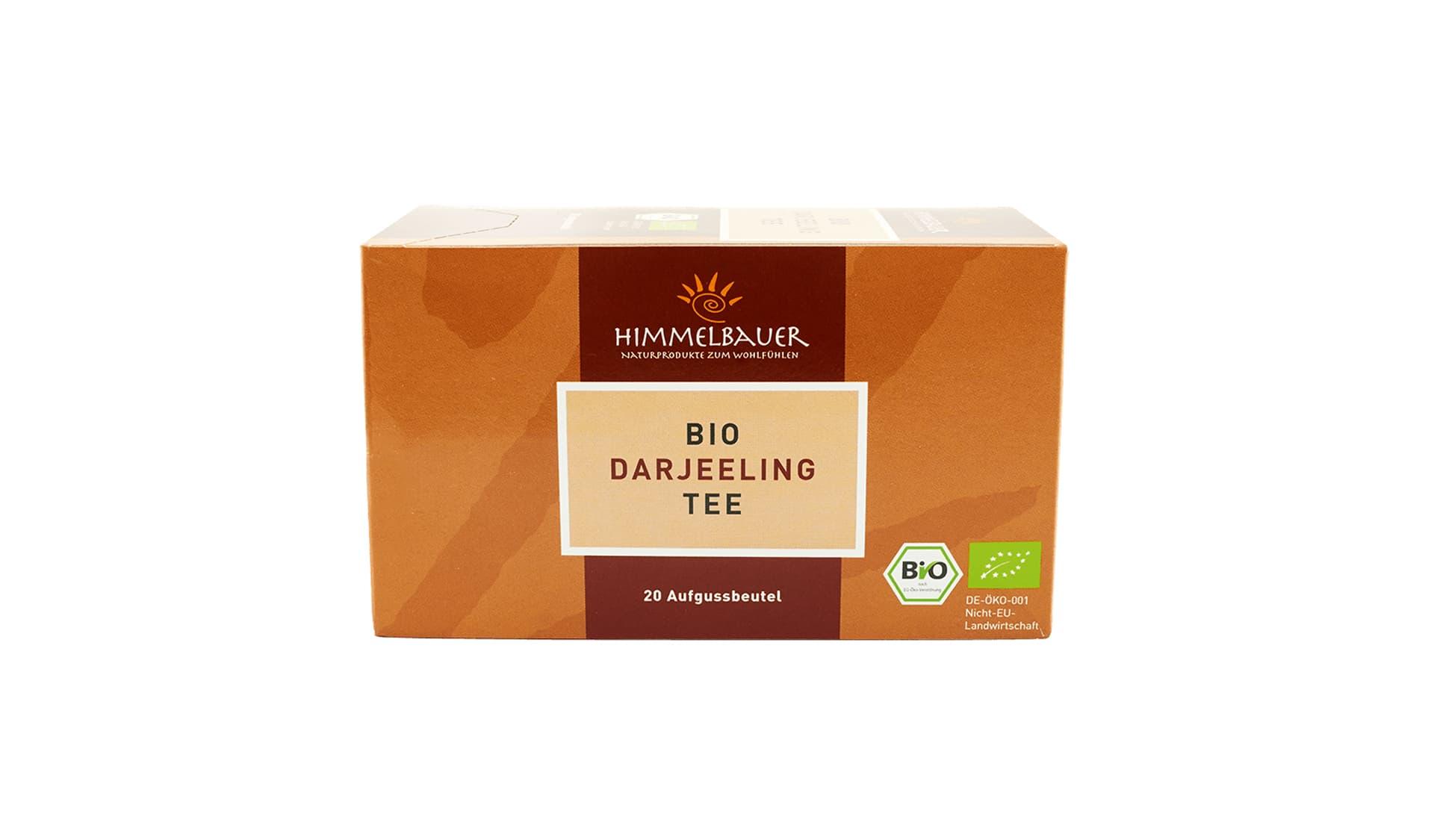 Himmelbauer Bio Darjeeling Tee, 20 Beutel (www.himmelbauer.de)
