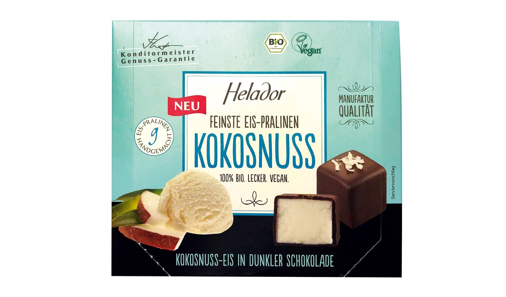 Helador Feinste Eis-Pralinen Kokosnuss (www.helador.de)