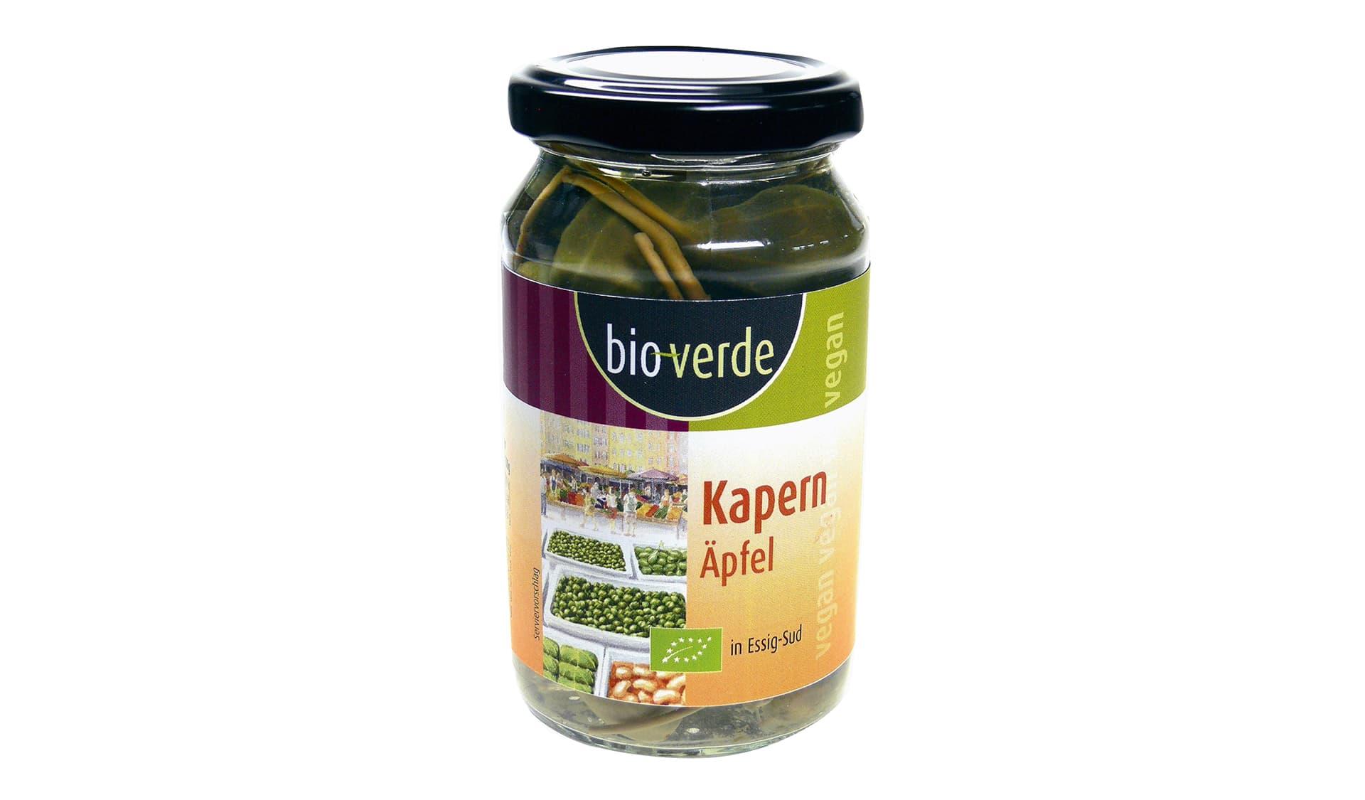 bio-verde/Isana (www.bio-verde.de) Kapern Äpfel