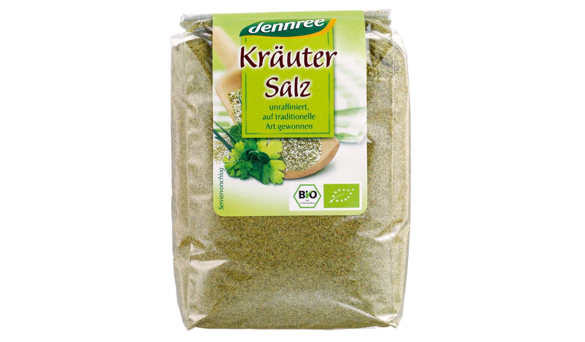 Dennree Kräutersalz im Nachfüllbeutel (www.dennree.de)
