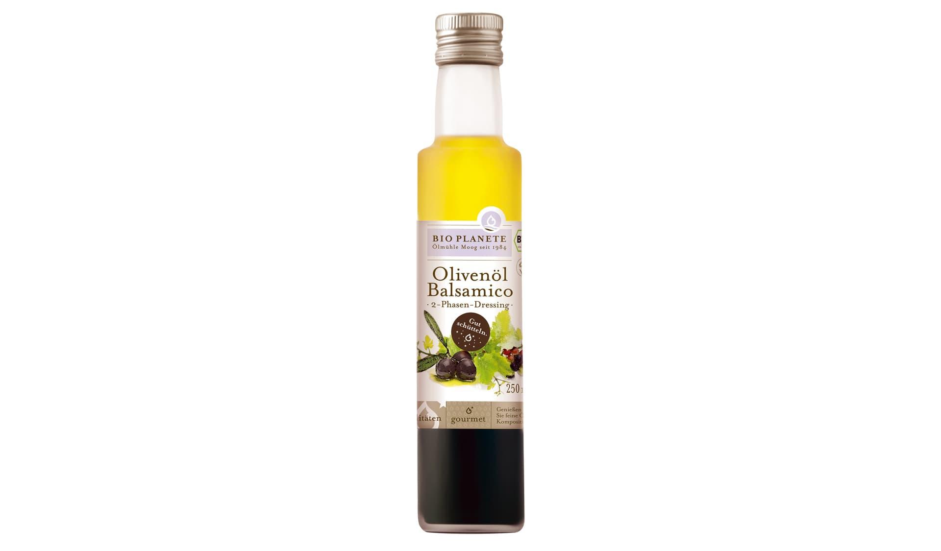 Bio Planète Olivenöl & Balsamico 2-Phasen Dressing (www.bioplanete.com)