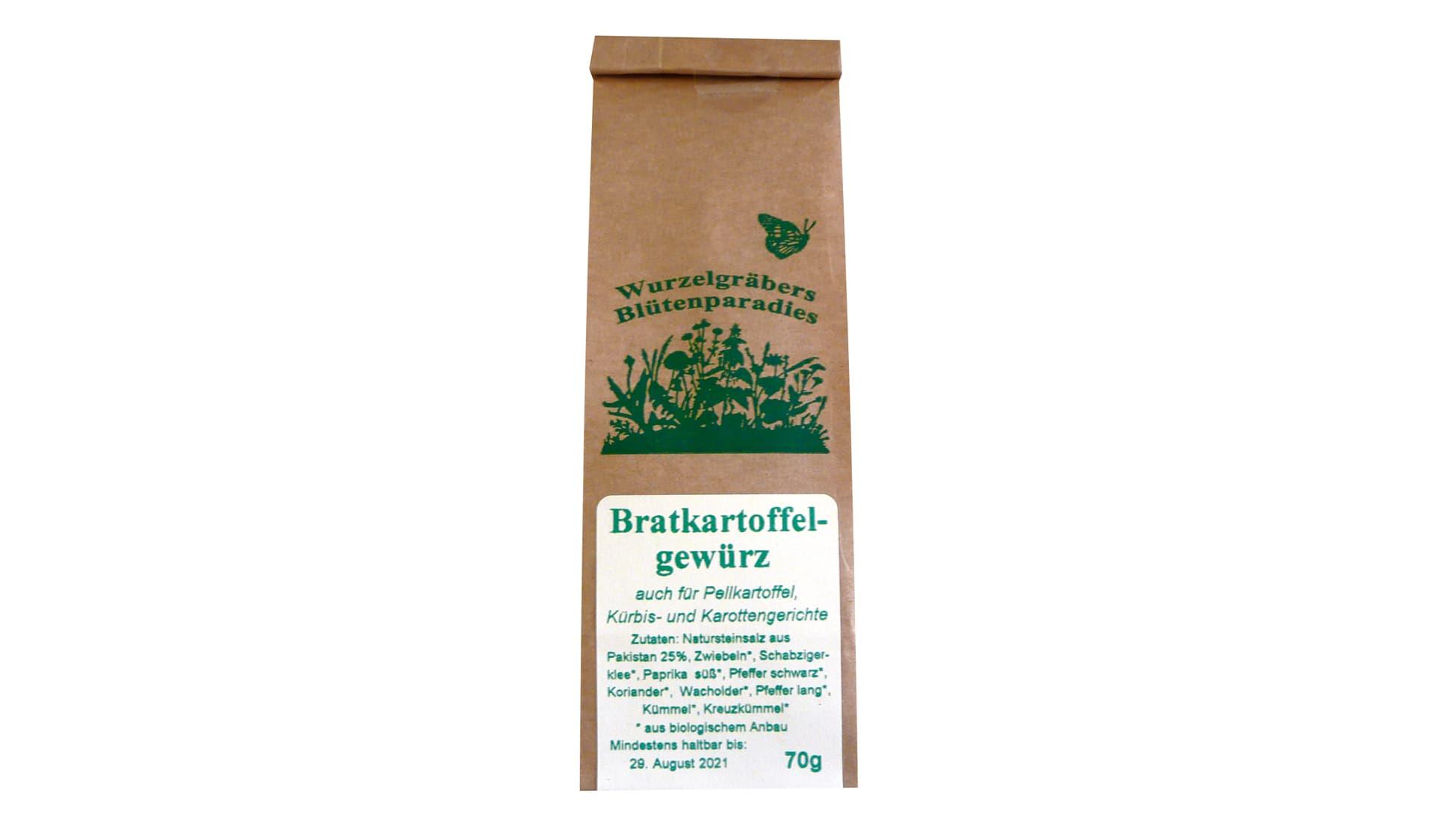 Wurzelgräbers Blütenparadies Bratkartoffelgewürz (www.wurdies.de)