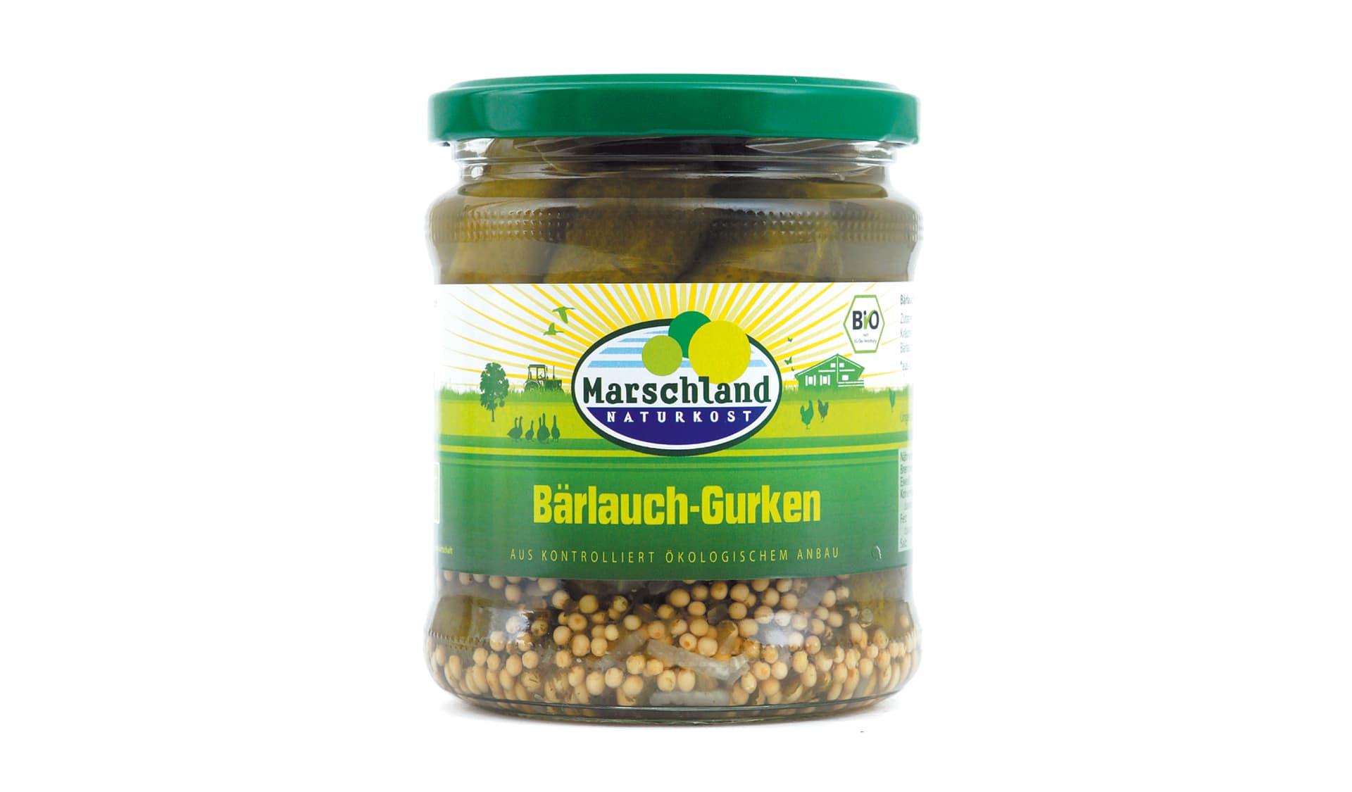 Marschland (www.alfredpaulsen.de/marschland) Bärlauch-Gurken