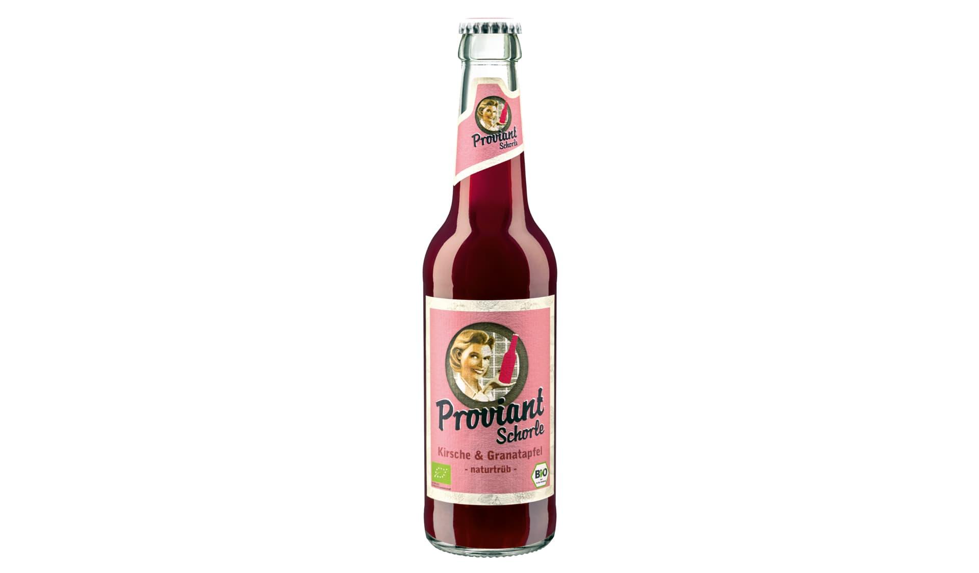 Proviant Schorle Kirsche & Granatapfel (www.proviant-limo.de)
