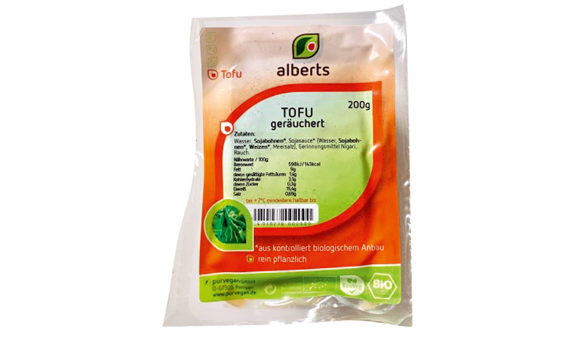 Alberts Tofu geräuchert (www.purvegan.de)