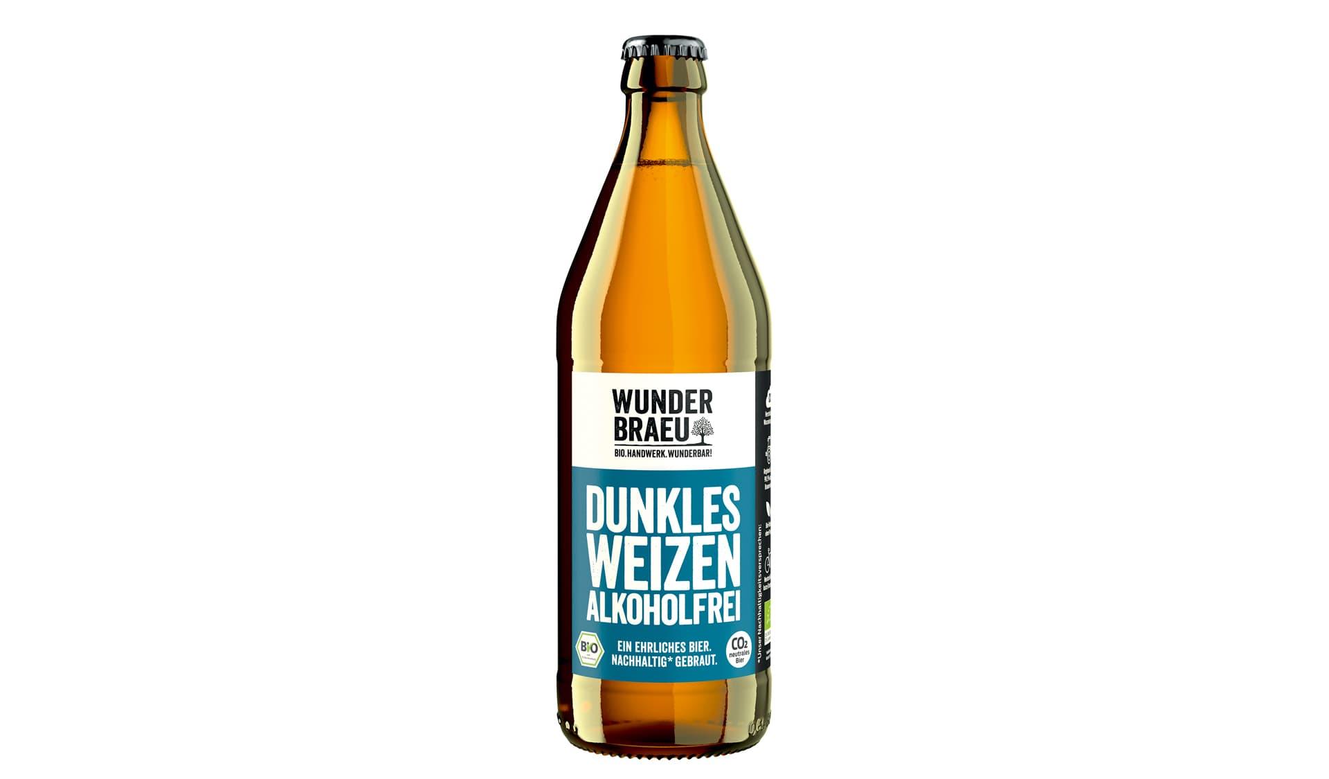 Wunderbräu Dunkles Weizen alkoholfrei (www.wunderbraeu.de)