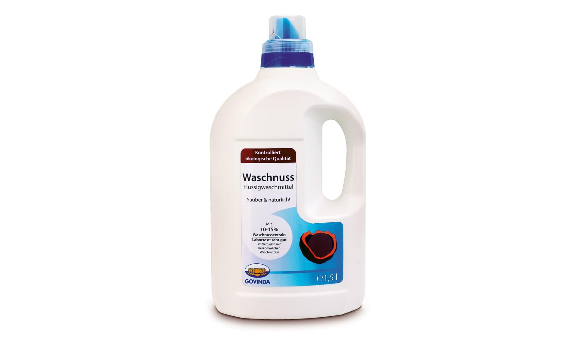 Govinda (www.govinda-natur.de) Waschnuss-Flüssigwaschmittel