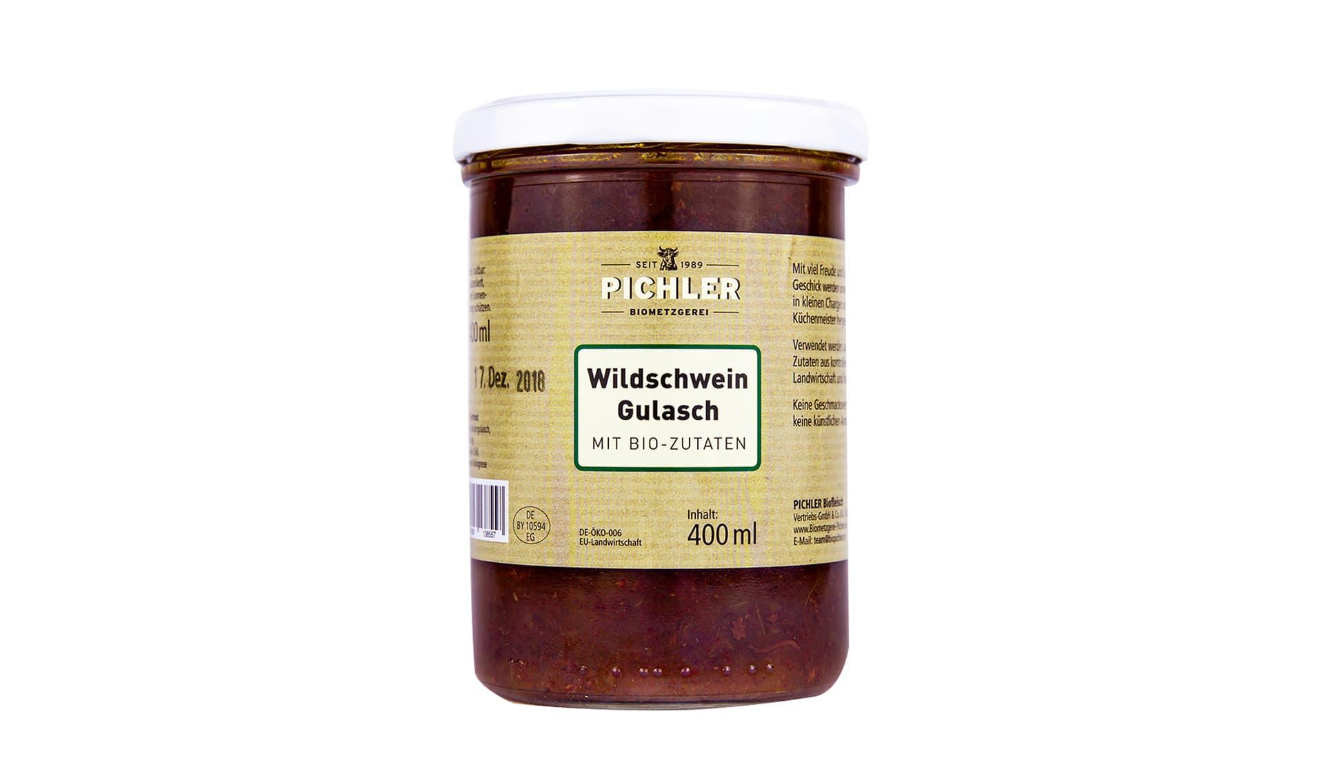 Pichler Wildschweingulasch (www.biometzgerei-pichler.de)