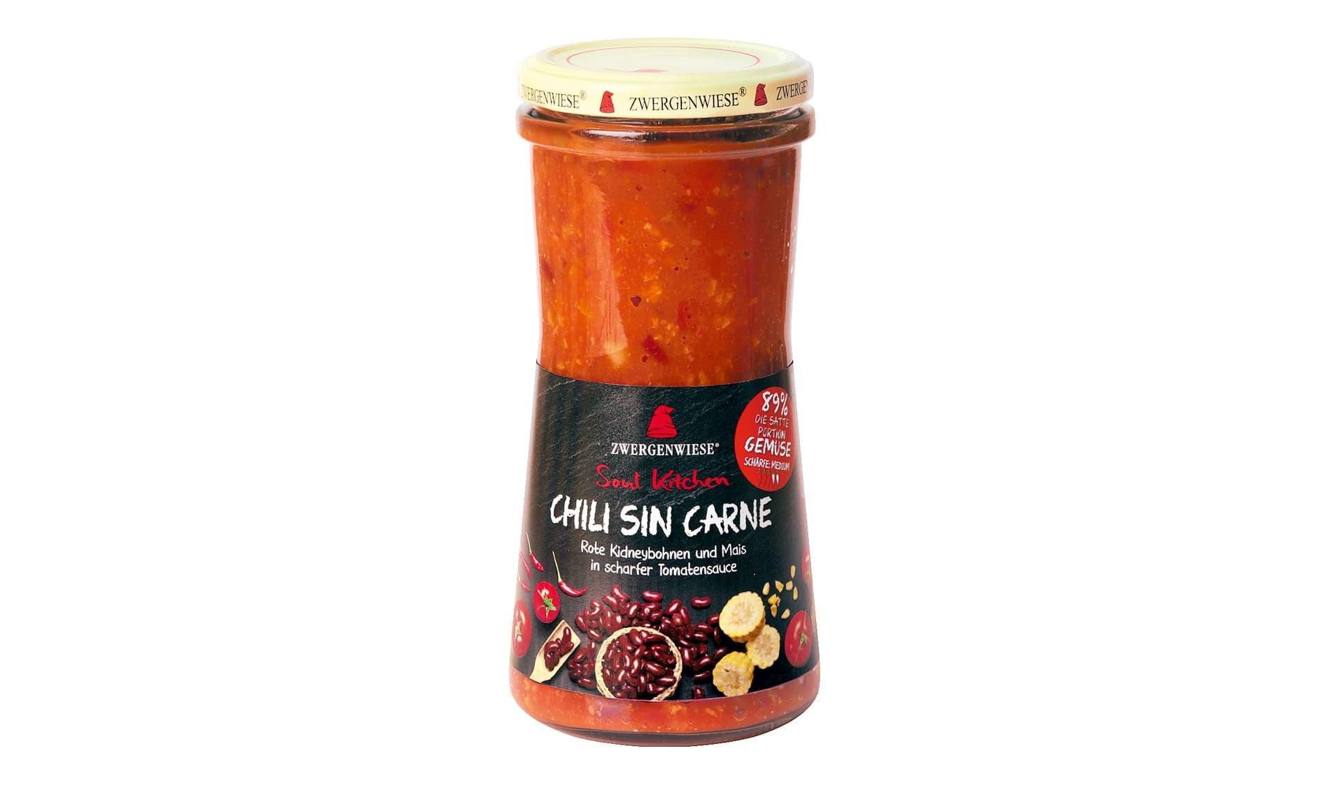Zwergenwiese Chili sin Carne (www.zwergenwiese.de)