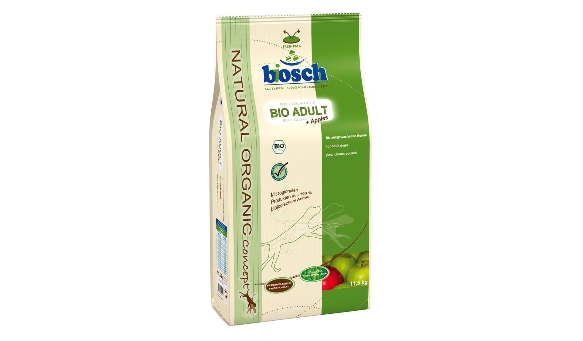 Bosch Tiernahrung (www.bosch-tiernahrung.de) Bio Adult plus Apples