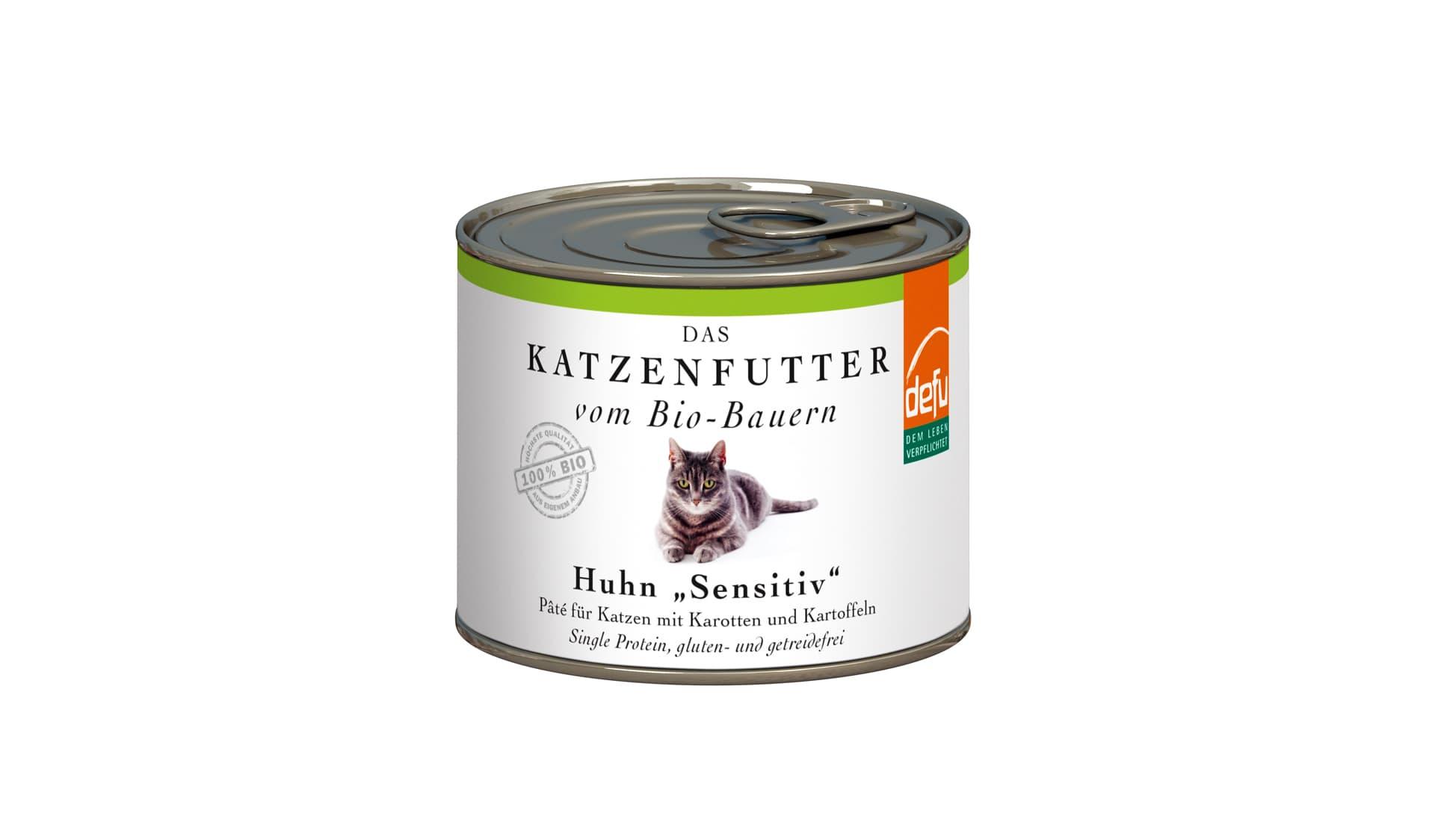 """Defu (www.defu.de) Katzenfutter Huhn """"Sensitiv"""""""