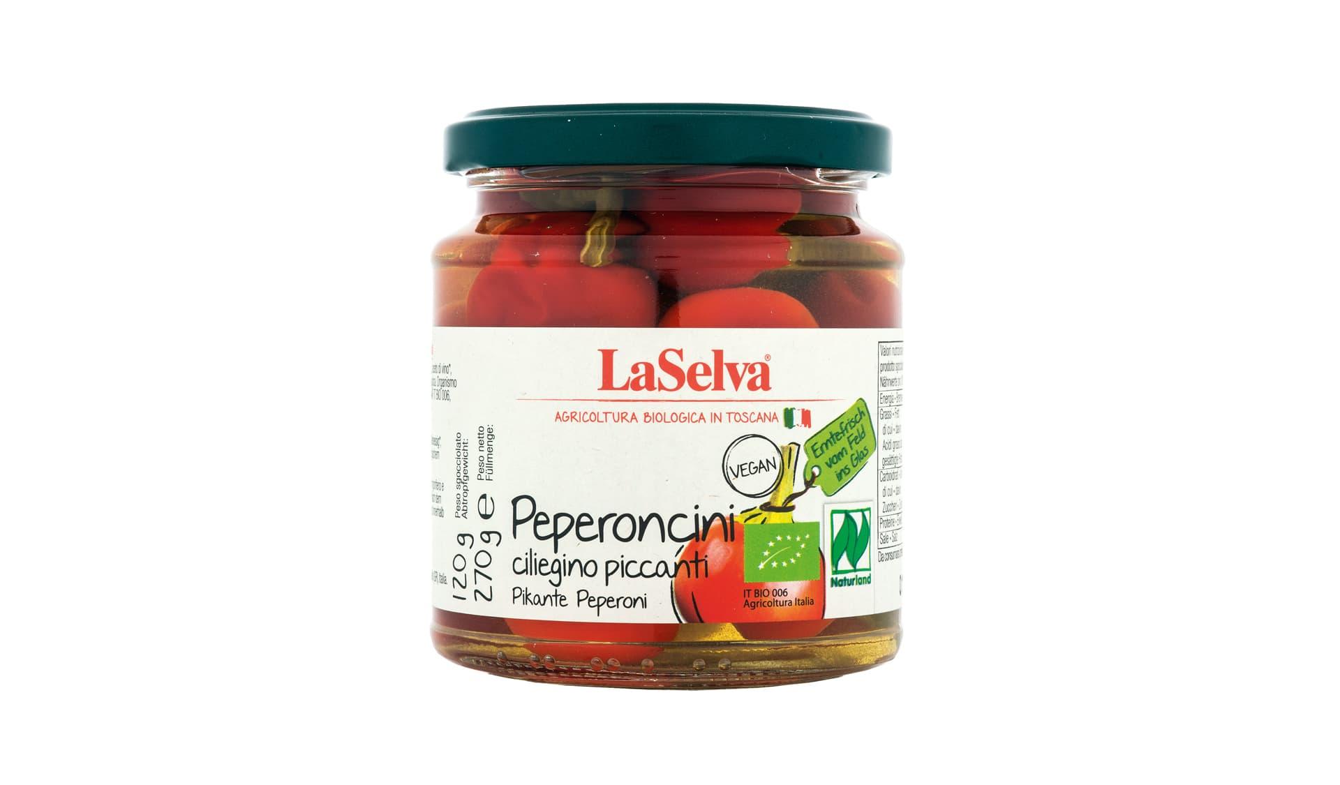 La Selva (www.laselva.bio) Pikante Peperoni