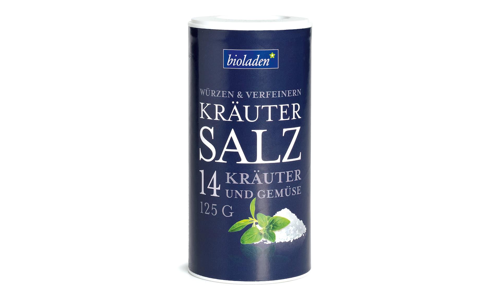 bioladen Kräutersalz mit 14 Kräutern und Gemüse (www.bioladen.de)