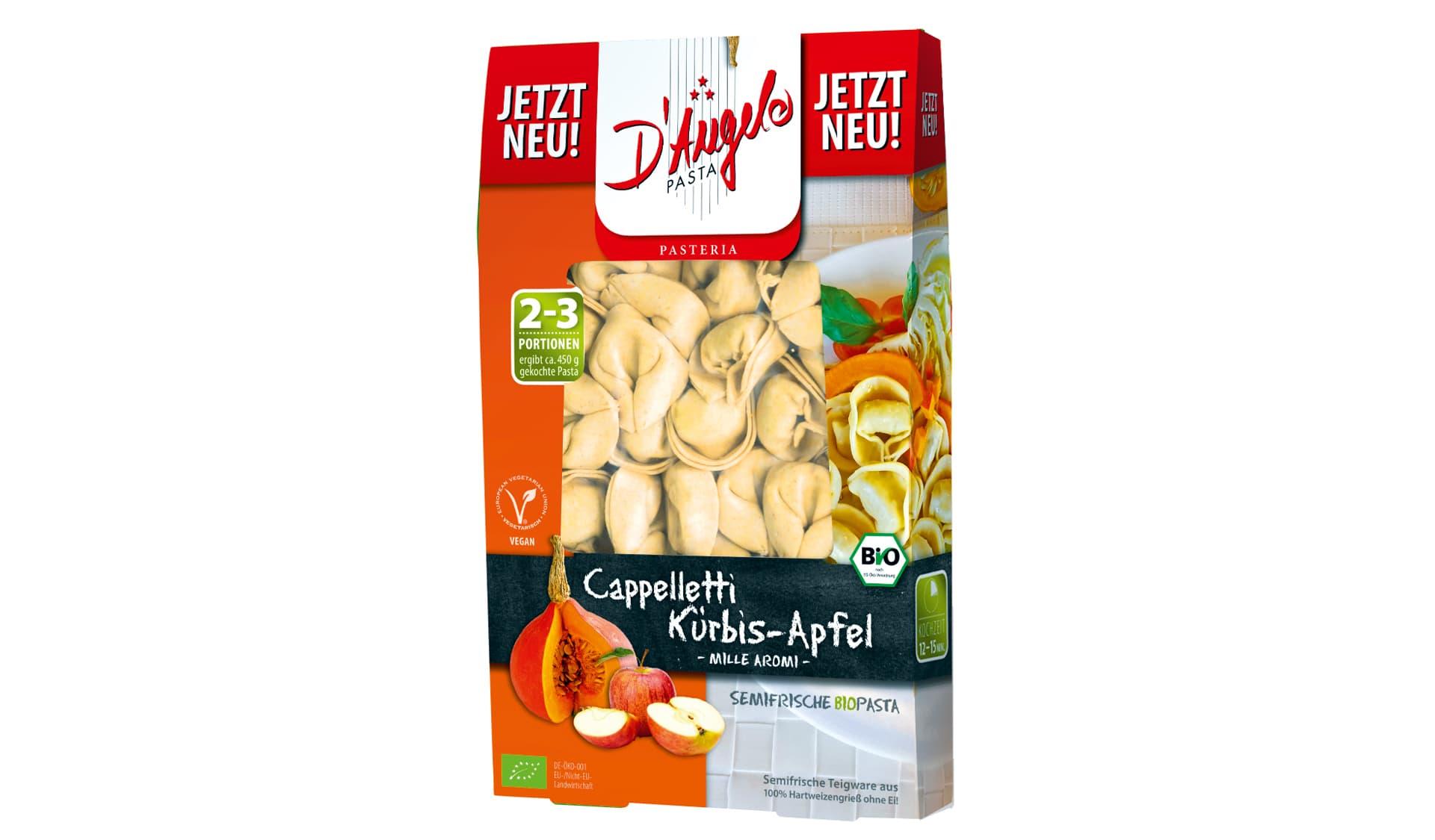 D'Angelo (www.dangelo.de) Cappelletti Kürbis-Apfel