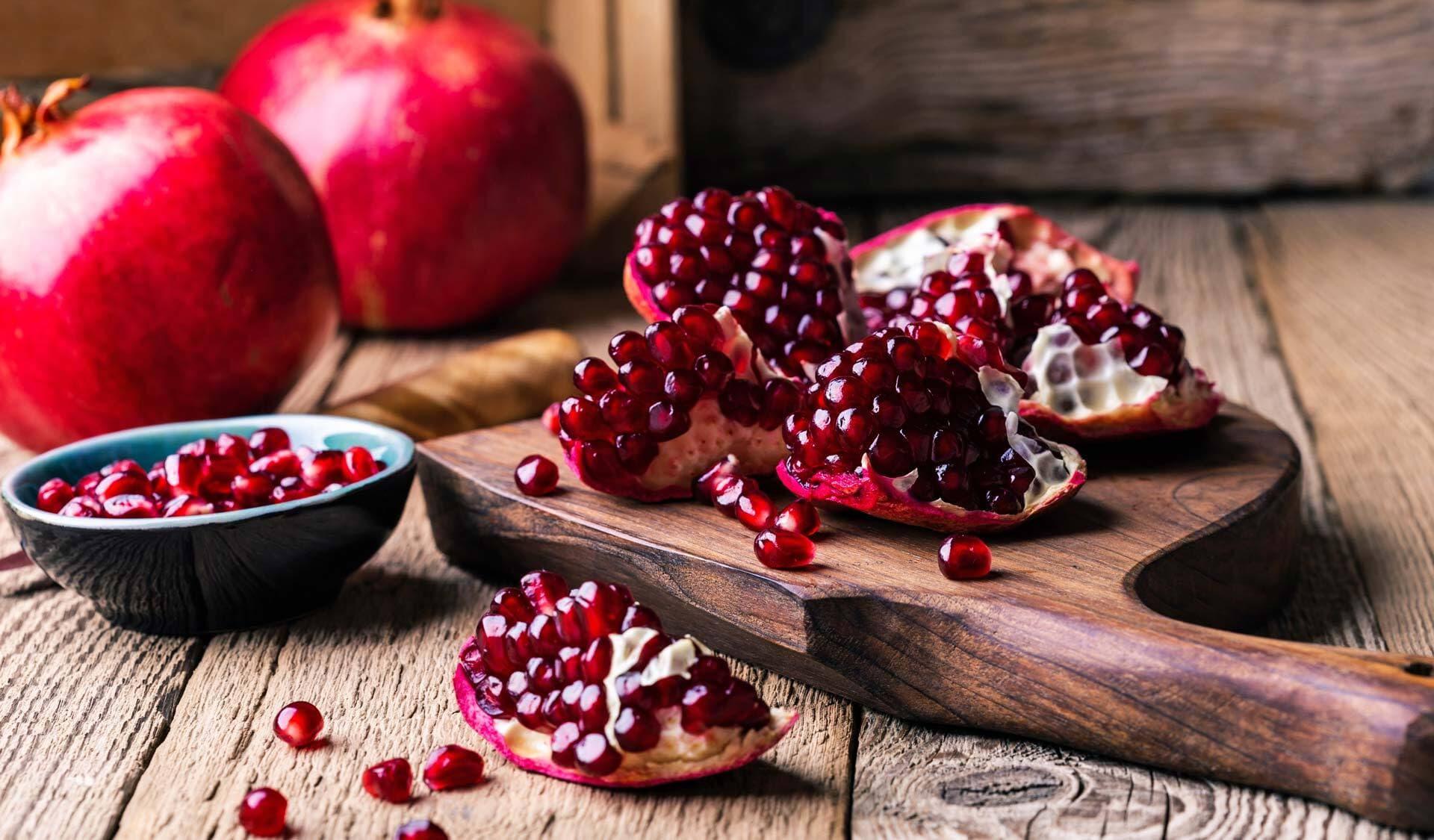 Exotische Früchte, Granatapfel