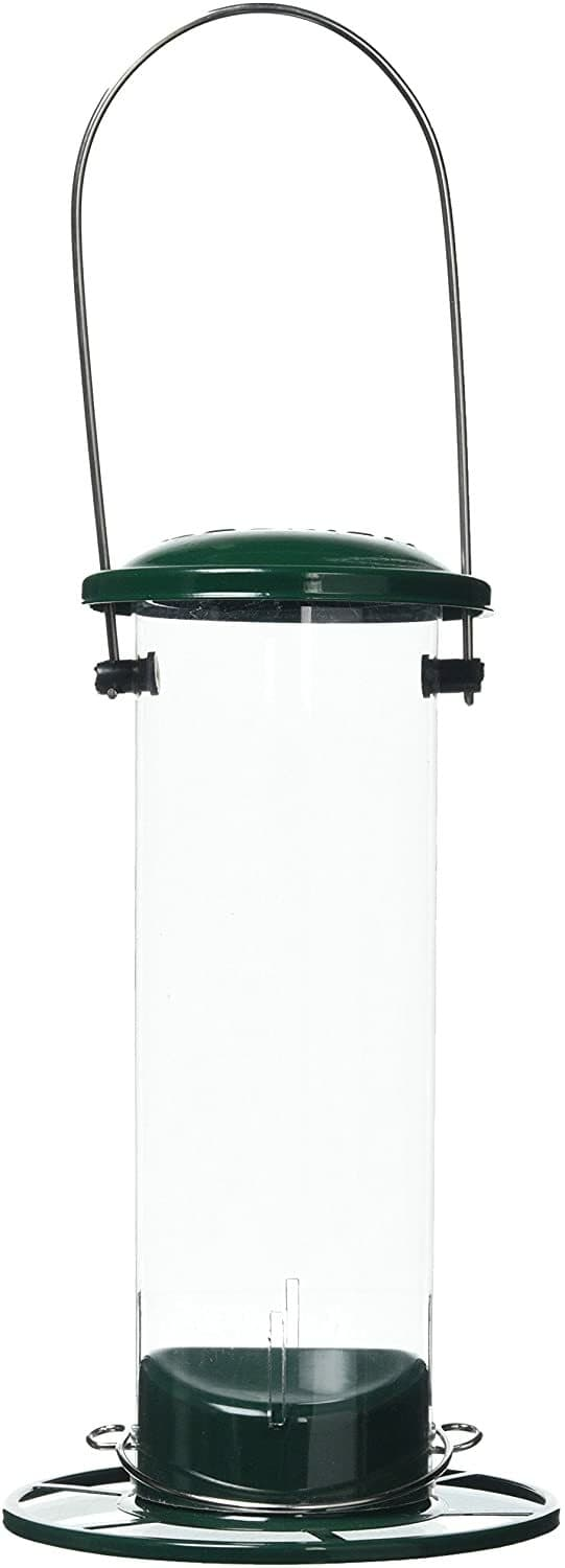 Peckish All Weather Metal Nyjer Seed Bird Feeder, Small