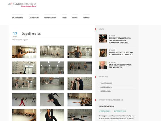 Kunsthumaniora Antwerpen Hed. Dans - Erwin Heiser (FOCUS! bvba)
