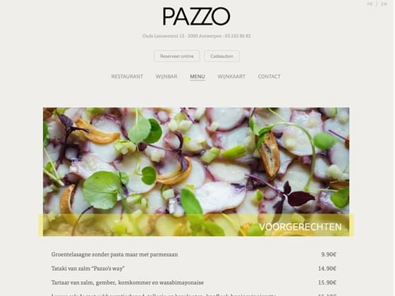 Pazzo (restaurant) - Erwin Heiser (FOCUS! bvba)