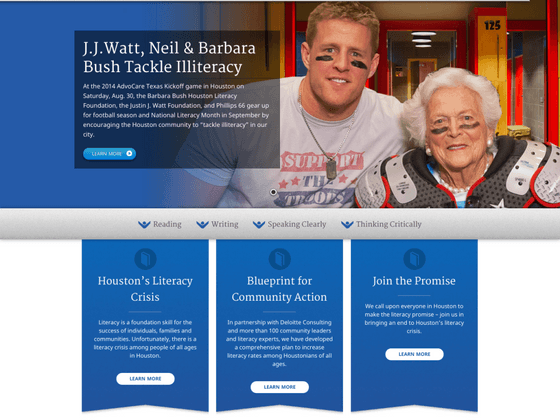 Barbara Bush Houston Literacy Foundation - Michael Rog
