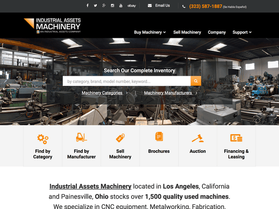 Industrial Assets Machinery - Lindsey DiLoreto