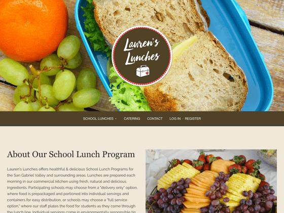 Lauren's Lunches - Lindsey DiLoreto