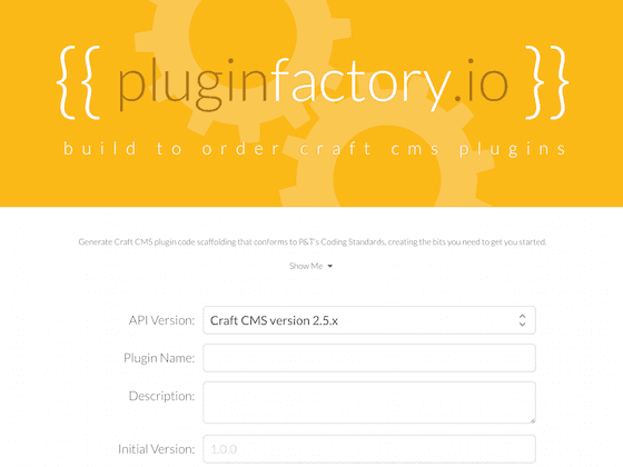 pluginfactory.io - nystudio107