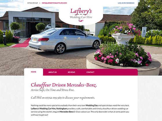 Lafbery's Wedding Car Hire - webdna