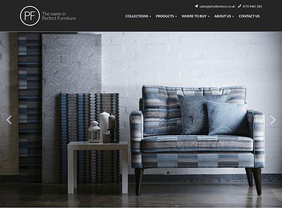 PF Collections Ltd - webdna