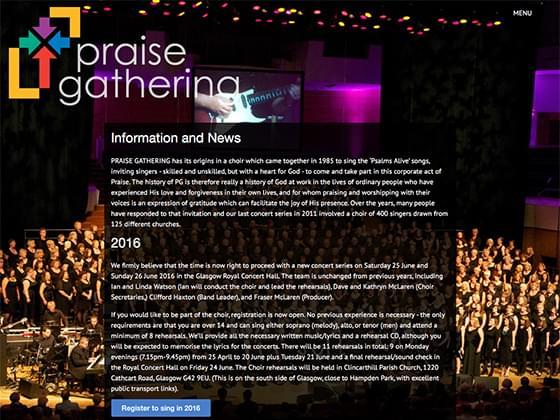 Praise Gathering  - Steven Grant
