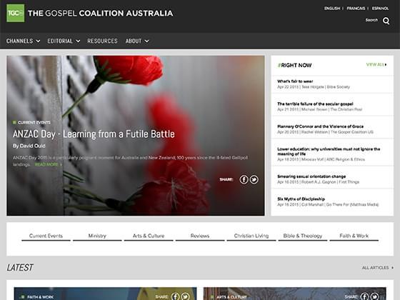 The Gospel Coalition Australia - Steven Grant